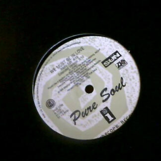 """Pure Soul - We Must Be In Love (12"""", Promo)"""
