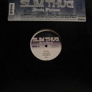 Slim Thug - Already Platinum (2xLP, Album)