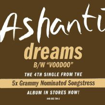 "Ashanti - Dreams / Voodoo (12"", Single, Promo)"