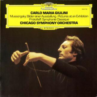 Mussorgsky* / Prokofieff*, Chicago Symphony Orchestra* · Carlo Maria Giulini - Bilder Einer Ausstellung / Symphonie Classique (LP)