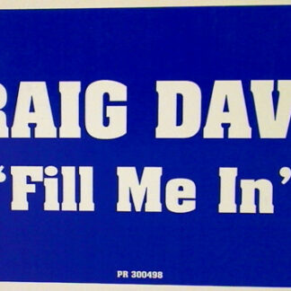 "Craig David - Fill Me In (12"", Promo)"