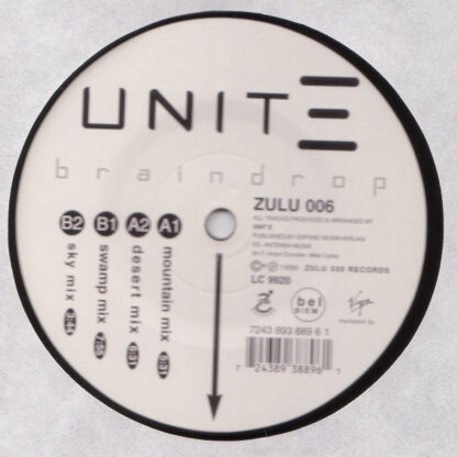 "Unit-E - Braindrop (12"")"
