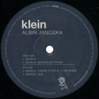 "Albin Janoska - Baheux (12"")"