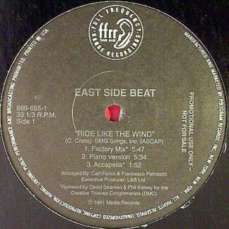 "East Side Beat - Ride Like The Wind (12"", Promo)"