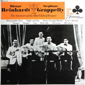 Django Reinhardt - Stephane Grappelly* With Quintet Of The Hot Club Of France, The* - Django Reinhardt & Stephane Grappelly With The Quintet Of The Hot Club Of France (LP, Mono)