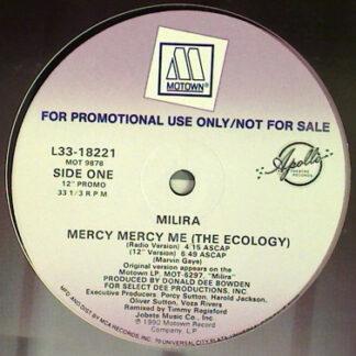 "Milira - Mercy Mercy Me (The Ecology) (12"", Promo)"