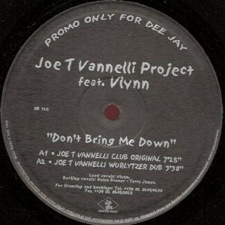 "Joe T. Vannelli Project Feat. Vlynn - Don't Bring Me Down (2x12"", Promo)"