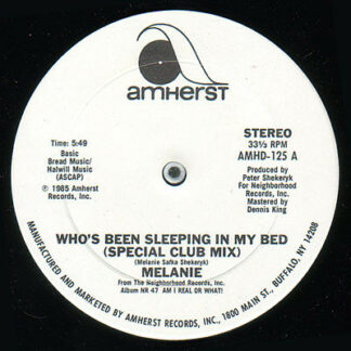 """Melanie (2) - Who's Been Sleeping In My Bed (12"""")"""