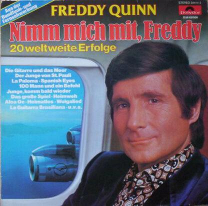 Freddy Quinn - Nimm Mich Mit, Freddy (LP, Comp, Club)
