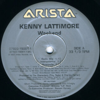 "Kenny Lattimore - Weekend (12"", Single)"
