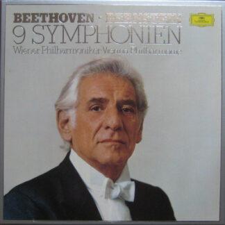 Beethoven* - Bernstein* - Wiener Philharmoniker - 9 Symphonien (8xLP + Box)