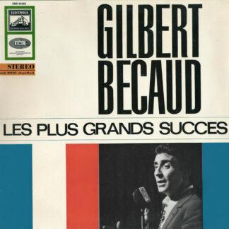 Gilbert Becaud* - Les Plus Grands Succes (LP, Comp)