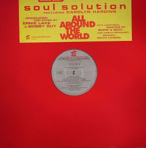 """Soul Solution Featuring Carolyn Harding - All Around The World (2x12"""")"""