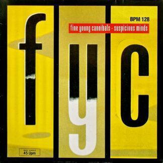 """Fine Young Cannibals - Suspicious Minds (12"""", Maxi)"""