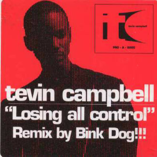 """Tevin Campbell - Losing All Control (Remix) (12"""", Promo)"""
