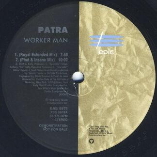"Patra - Worker Man (The Remixes) (12"", Promo)"