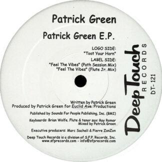 "Patrick Green - Patrick Green E.P. (12"", EP)"