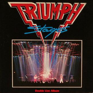 Triumph (2) - Stages (2xLP, Album)