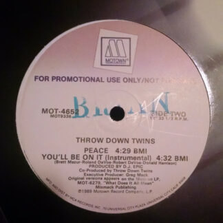 "Throw Down Twins - You'll Be On It (12"", Promo)"