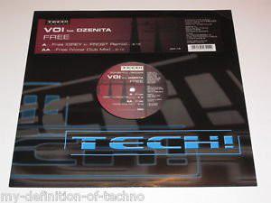 """Voi Feat. Dzenita - Free (12"""")"""