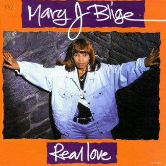 """Mary J Blige* - Real Love (12"""")"""