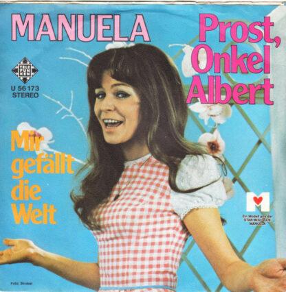 """Manuela (5) - Prost, Onkel Albert (7"""", Single)"""