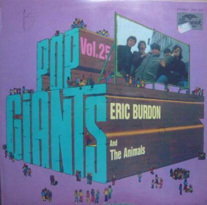 Eric Burdon And The Animals* - Pop Giants, Vol. 25 (LP, Comp)