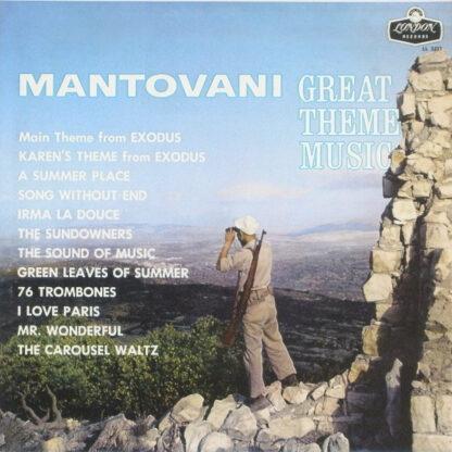 Mantovani - Great Theme Music (LP, Mono)