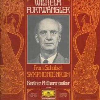 Franz Schubert - Berliner Philharmoniker, Wilhelm Furtwängler - Symphonie Nr. 9 (7) (LP, Mono)