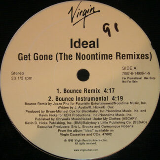 "Ideal (6) - Get Gone (The Noontime Remixes) (12"", Promo)"