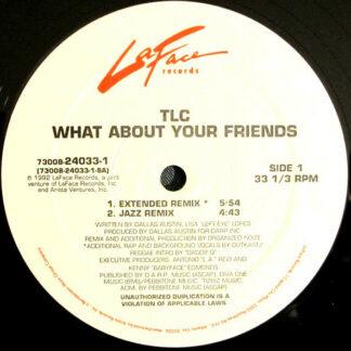 "TLC - What About Your Friends (12"", Gen)"