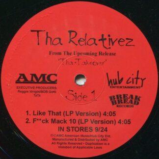 "Tha Relativez* - Like That (12"", Single)"
