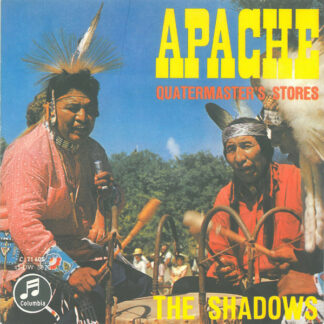 "The Shadows - Apache (7"", Single, Mono, RP)"