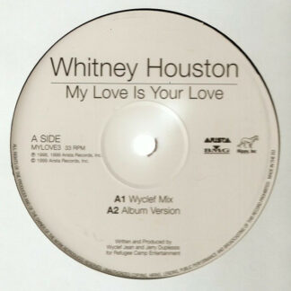 "Whitney Houston - My Love Is Your Love / It's Not Right But It's Okay (12"")"
