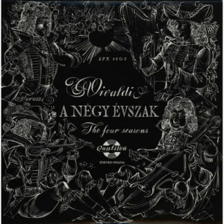 Vivaldi* - A Négy Évszak (The Four Seasons) (LP, Album, RE)