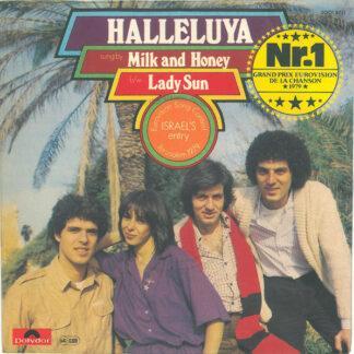 "Milk And Honey - Halleluya b/w Lady Sun (7"", Single, RP)"
