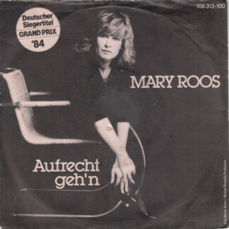 """Mary Roos - Aufrecht Geh'n (7"""", Single)"""