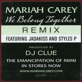 """Mariah Carey - We Belong Together (Remix) (12"""", Promo)"""