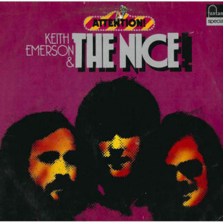 Keith Emerson & The Nice - Attention! Keith Emerson & The Nice (LP, Comp, RE)