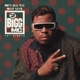 "2 Bigg MC - He's All The Way Live (12"")"