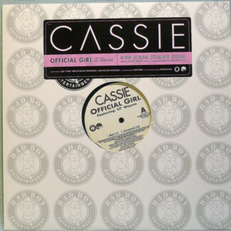 """Cassie (2) feat. Lil' Wayne* - Official Girl (12"""", Promo)"""