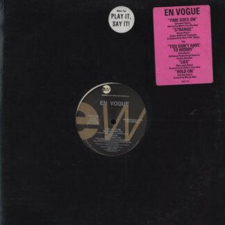"En Vogue - Time Goes On (12"", EP, Promo)"