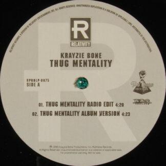 """Krayzie Bone - Thug Mentality (12"""", Promo)"""