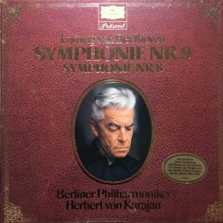 Ludwig van Beethoven / Berliner Philharmoniker, Herbert von Karajan - Symphonie Nr. 9 - Symphonie Nr. 8 (2xLP, RP + Box)