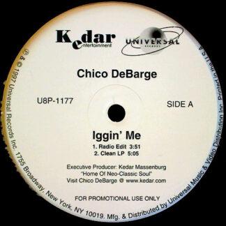 """Chico DeBarge - Iggin' Me (12"""", Promo)"""