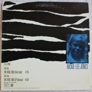 "Rickie Lee Jones - The Real End (12"", Promo)"