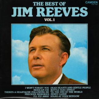 Jim Reeves - The Best Of Jim Reeves Vol. 1 (LP, Comp)