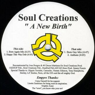 "Soul Creations* - A New Birth (12"")"