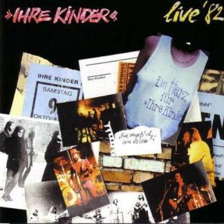 Ihre Kinder - Live '82 (LP, Album, RE)