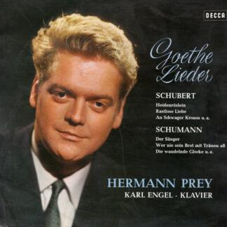 Schubert*, Schumann*, Hermann Prey, Karl Engel - Goethe Lieder (LP, Roy)